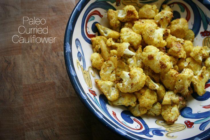 Curried Cauliflower. Find my recipe at www.facebook.com/budgethealth and www.healthyeatingonastudentbudget.wordpress.com