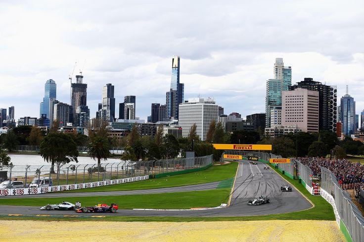The F1 Australian Grand Prix In Pictures