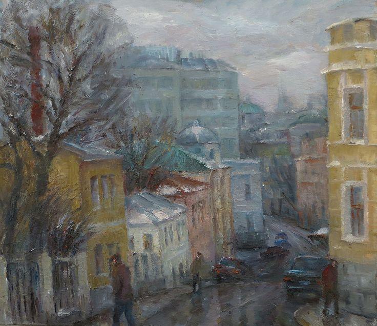 Московский переулок, 2014, х.м. 80х80