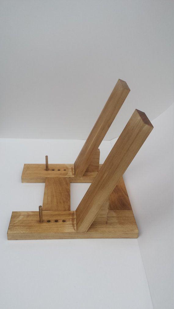 Sostenedor del libro cocina madera