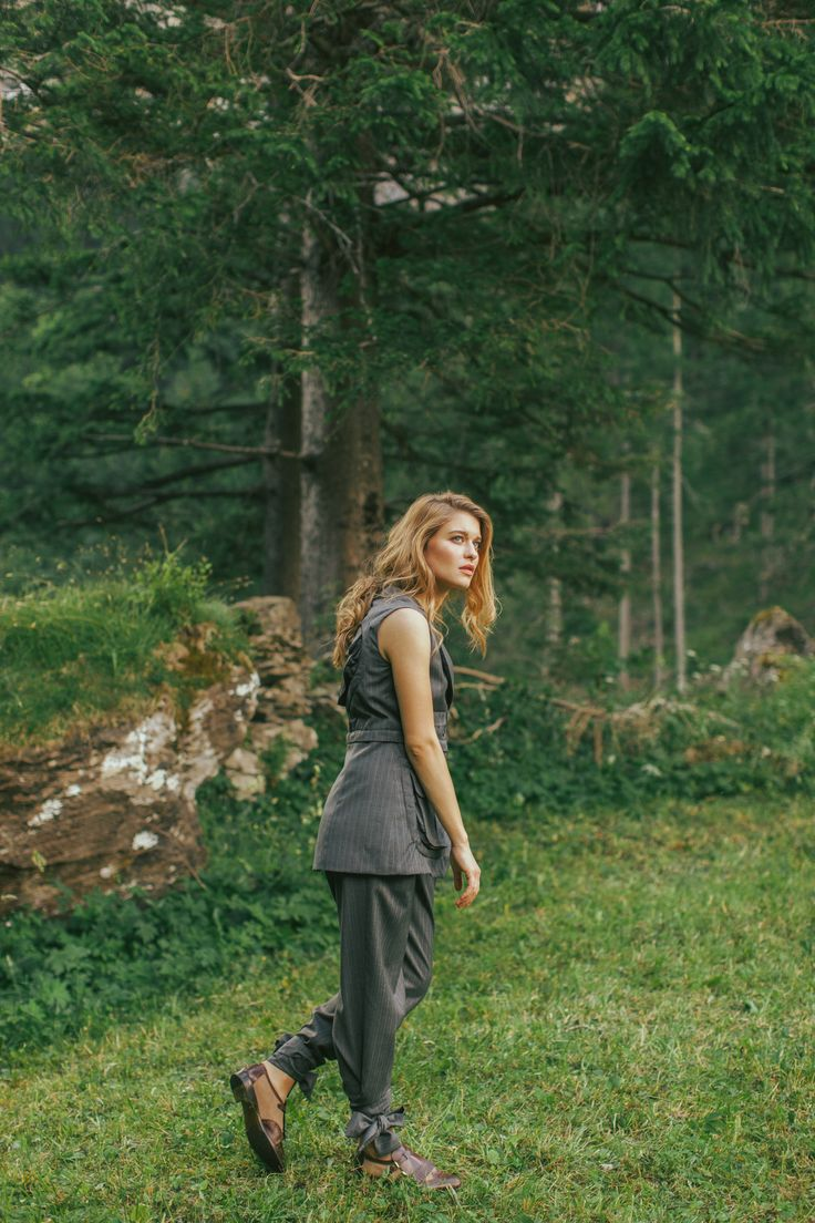 Wearing Afterlife and the Tie Me trousers from the Love Collection.   Discover more on our website  http://doruntinaazemi.com/