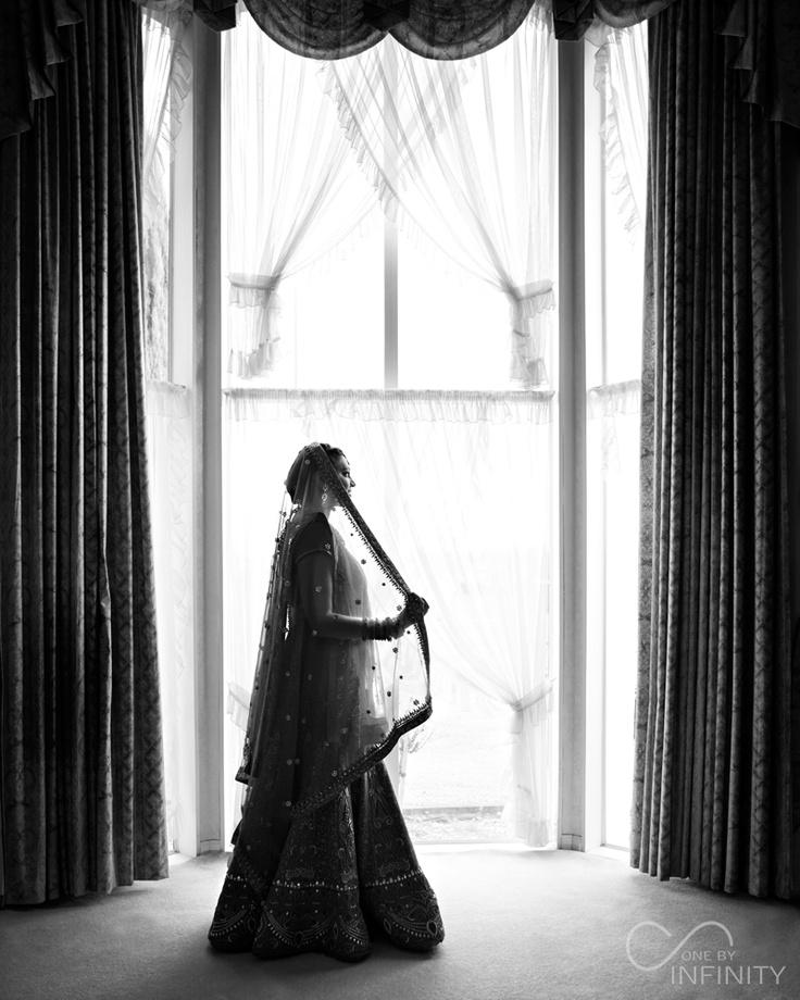Natasha in her gorgeous wedding dress