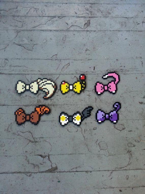 Haarschleifen oder Fliege  Pokemon inspiriert von BurritoPrincess