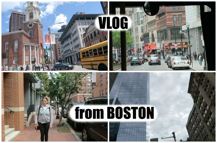 lifestyle: Vloging in Boston Downtown