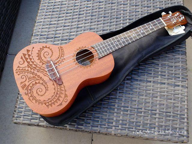 Luna Tattoo Concert Ukulele - REVIEW | GOT A UKULELE - Leading ukulele blog for the beginner