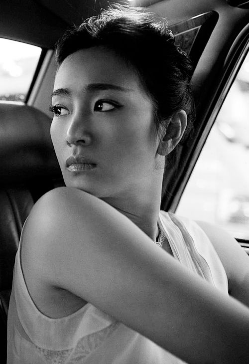 Gong Li by Greg Williams
