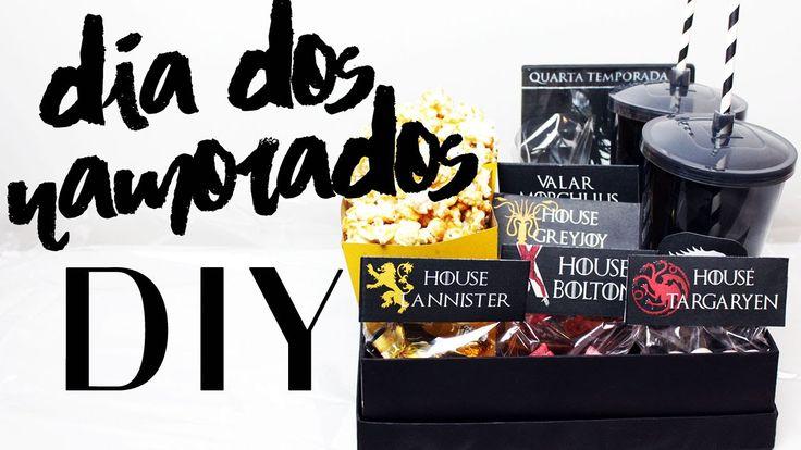 DIY:  Dia dos Namorados - Sugestão de Presente Kit Cinema - Game of Thrones