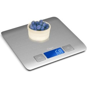 kitchen scale, I like how flat it is.... would probably be really easy to store