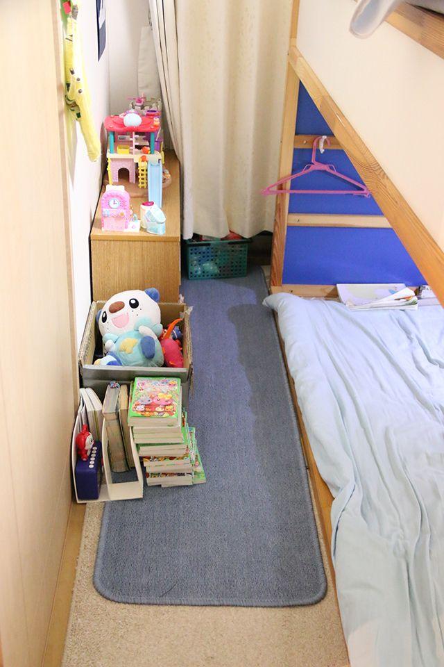 5人家族で2ldkのマンションに住んでいます 3人で使っている子供部屋がいつもごった返していたので 自分のス 子供部屋 レイアウト 子供部屋 家事ノート