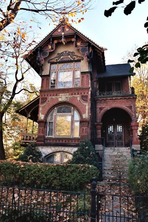 Old brick house, Victorian architecture?
