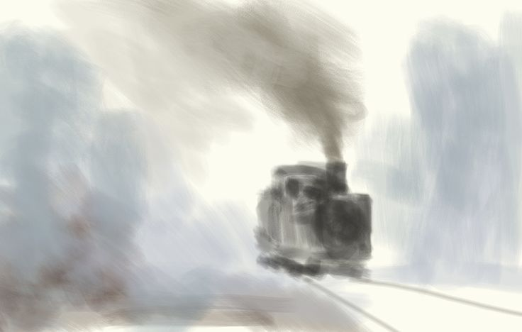 the old lokomotive