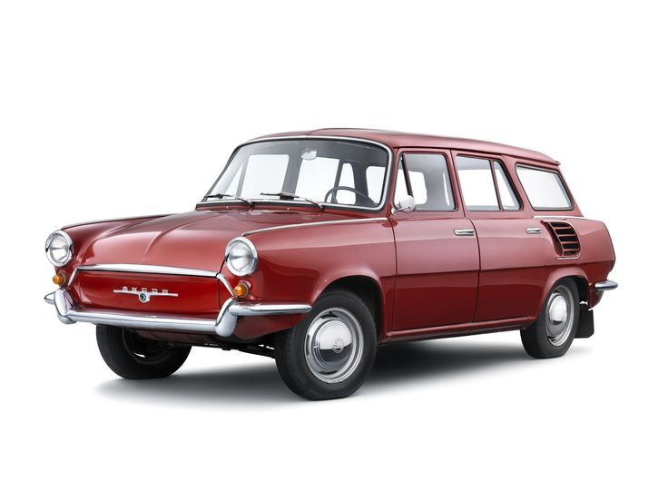 1963 Škoda 1000 MB Kombi Prototype