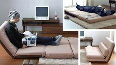 Skladacie pohovky, postele a koč salóniky pre malé priestory