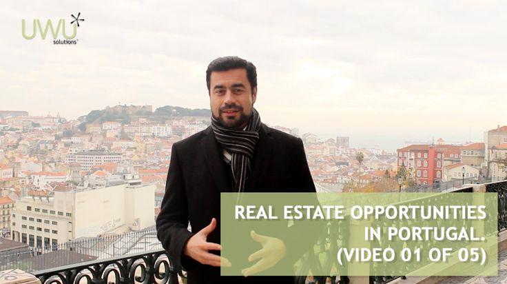 Oportunidades de investimento em Portugal - Porquê Portugal? (Vídeo 01 de 05) - http://bit.ly/1DYxeGS  O nosso país está a tornar-se um local privilegiado para investir, fazer negócios e viver.  Ciente disto, a UWU Solutions decidiu partilhar consigo, nas próximas semanas, um conjunto de cinco vídeos sobre oportunidades de investimento no mercado imobiliário.  Se tiver alguma dúvida sobre este assunto, não hesite em nos contactar(comercial@uwu.pt).  - Saiba mais em http://www.uwu.pt