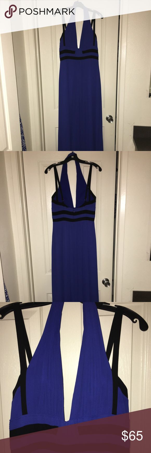 NWT Royal Blue BCBGMaxazria gown Beautiful brand new Bcbg gown (size 8). It's super flattering - empire waisted dress. I just bought this final sale but found a different dress to wear to an upcoming event. Feel free to make an offer :) BCBGMaxAzria Dresses Maxi