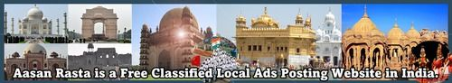 post free online classified ads : Aasanrasta post free classified ads online, online free classified ads, free classified ads site, classified ads for cars, buy, jobs, tender, education. | seematiwari