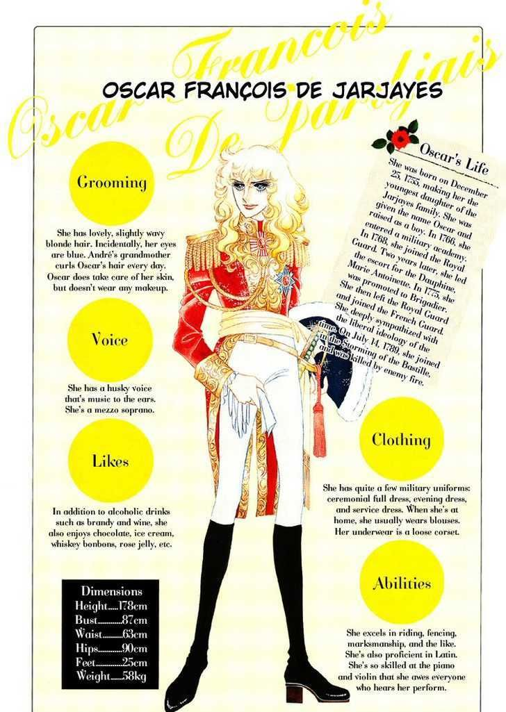 oscar, the rose of versailles