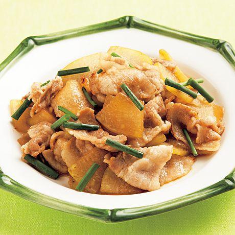 豚肉ととうがんのオイスター炒め | 伊藤朗子さんの炒めものの料理レシピ | プロの簡単料理レシピはレタスクラブニュース