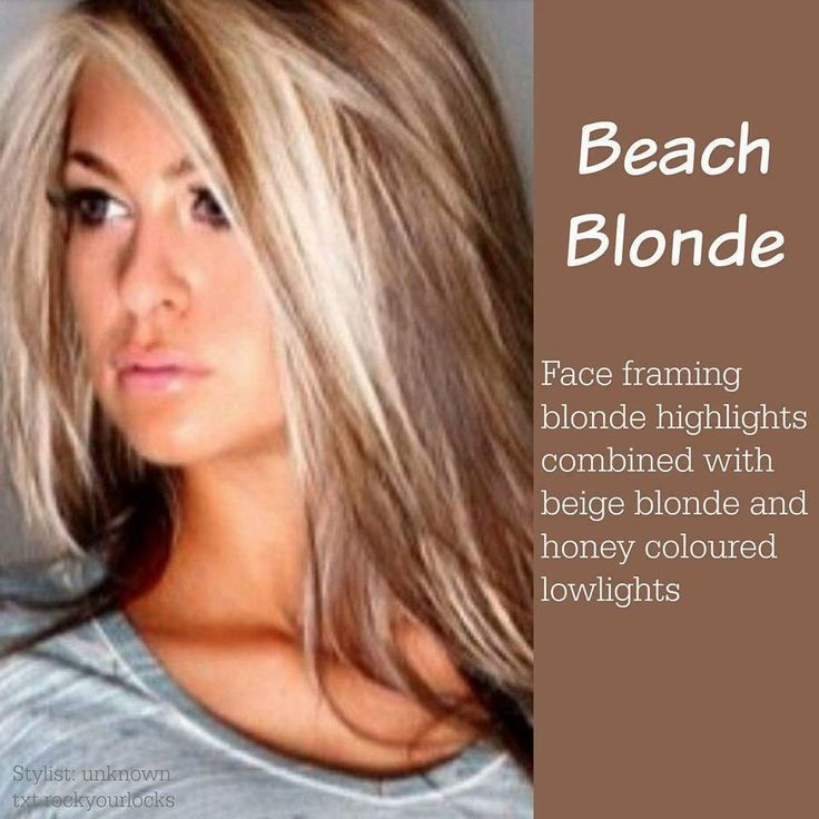 119 best hair images on pinterest hair carnivals and comic con beach blonde face framing blonde highlights with beige and honey blonde lowlights pmusecretfo Images