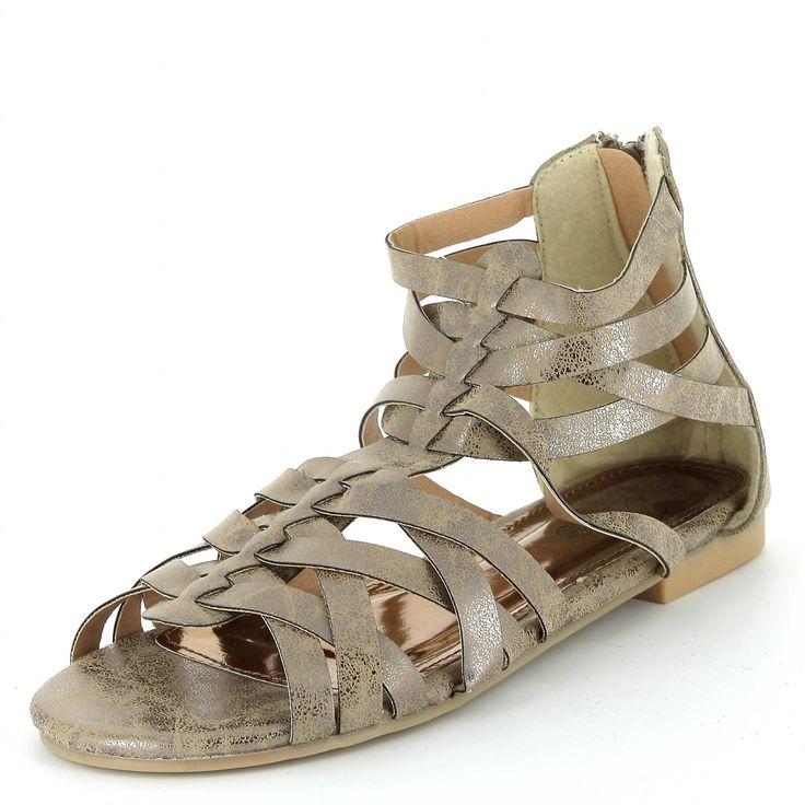 Griekse sandalen Dameskleding - Kiabi - 17,00€