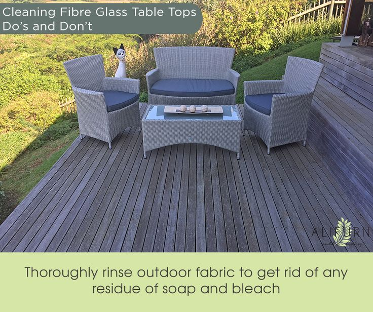 Detergent build-up can leave outdoor fabrics looking lacklustre… #OutdoorFurniture #PimpMyPatio #FabFabrics