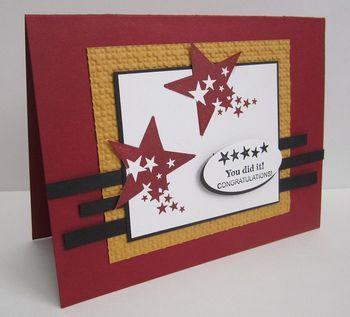 SU: Scrapbook Card, Cards Gradu, Stars Card, Card Su, Masculine Cards, Stamps Sets, Su Card Stampin Up Card Idea, Card Idea Stampin, Graduation Card