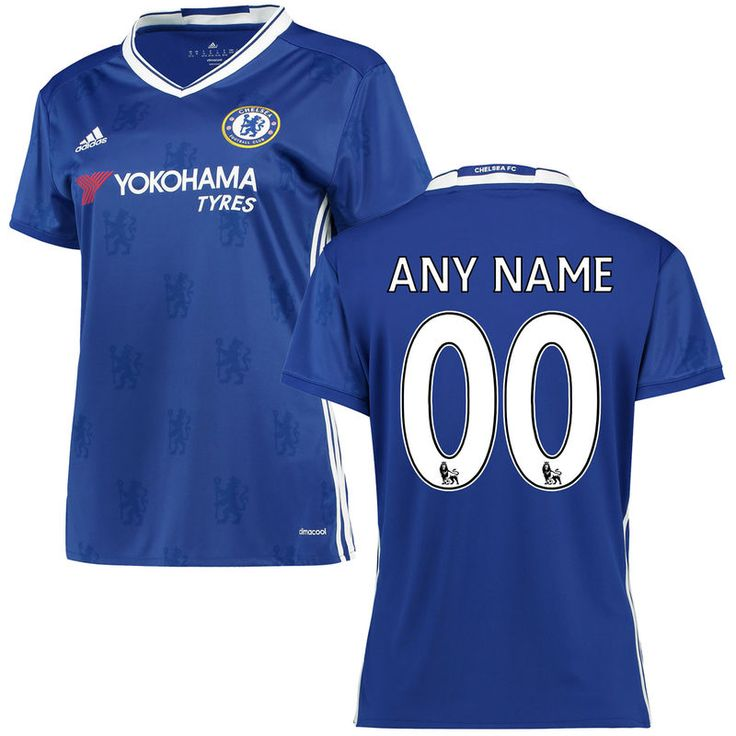 coupon for chelsea fc adidas womens 2016 replica home custom jersey blue  01dd4 4c2e3 cd105f32b