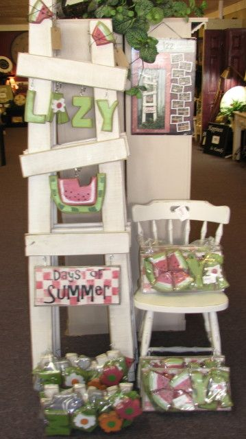 summer seasonal ladder
