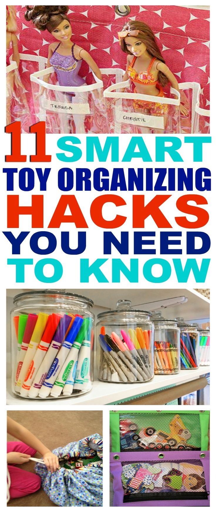 11 Genius Ways To Organize Kids' Stuff So You Won't Step On Another Lego! - That Vintage Life