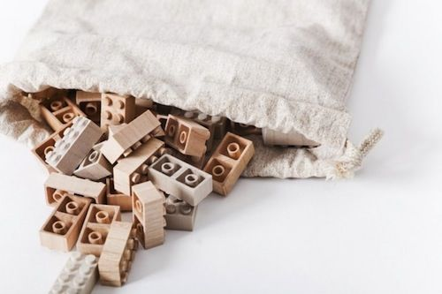 An Alternative To Plastic: Wooden LEGO Bricks