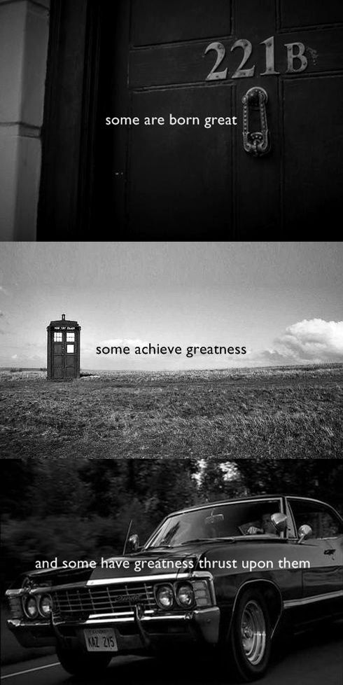 SuperWhoLock with a dash of The Bard.  I think I just went slightly insane from the awesomeness of this.
