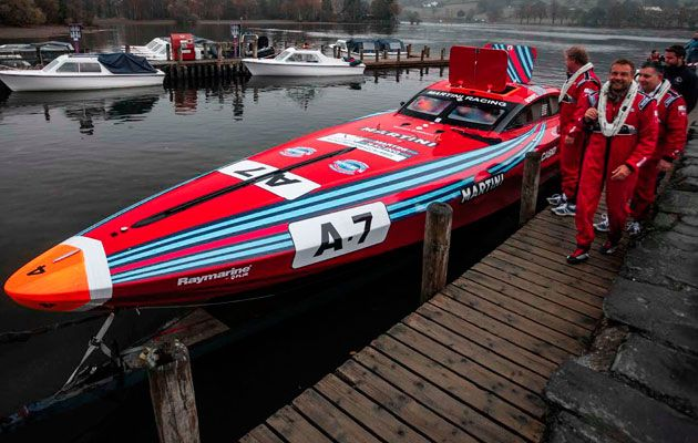 Vector Martini moored at Coniston round Ireland Venture cup