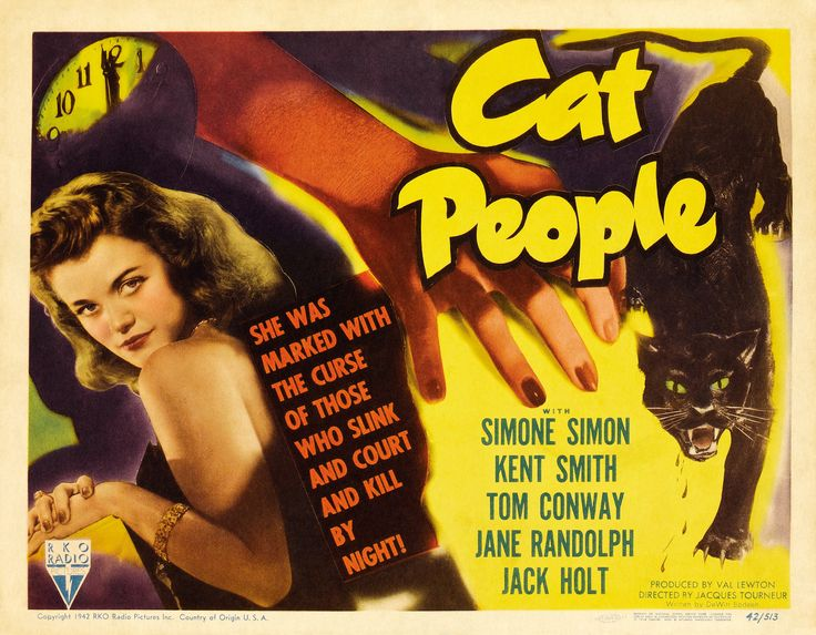 Cat People (1942) A strong reference for Funnel of Love. A woman who is not human, and with a strong aura and charisma, as Wanda will have.