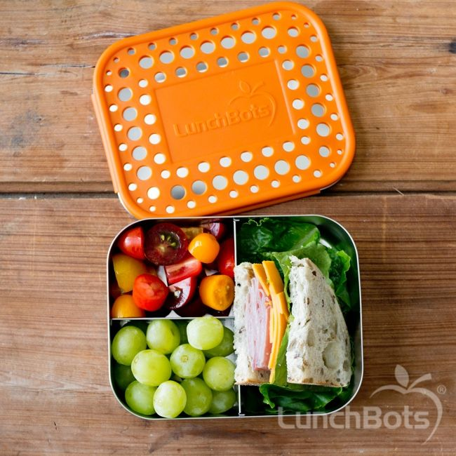 NEW! The Trio 2 is ideal for a 1/2 sandwich and 2 small sides.