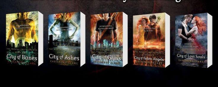 City of Bones series. Want!