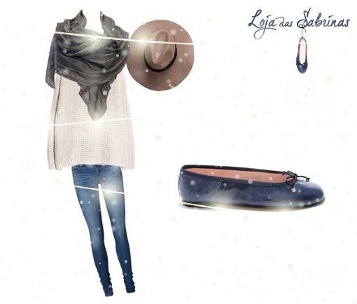Sabrinas Iris, para um look casual e despretensioso. Encontra-as aqui: http://www.lojadassabrinas.com/product/iris