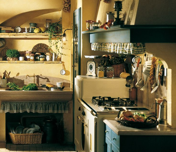 marchi group doria rustic kitchen in country style brick vintage stove and tables and