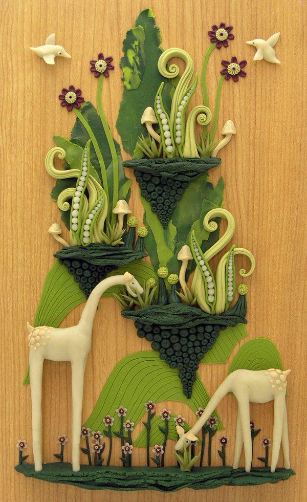 358 best polymer clay tiles images on Pinterest | Modeling, Ceramic ...