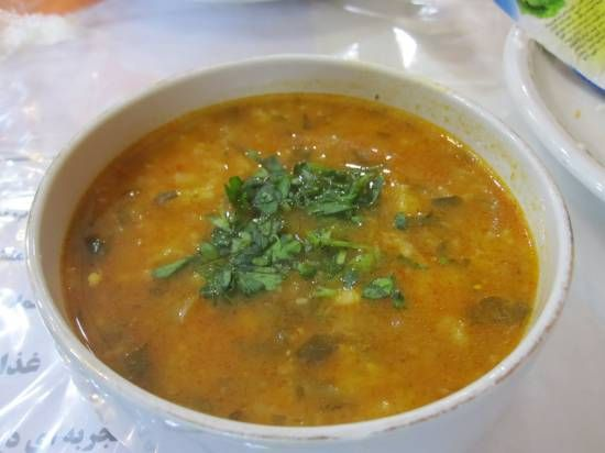 Ash Iraanse soep..zalig