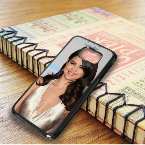 Selena Gomez Hair Highlights Samsung Galaxy S6 Edge Case