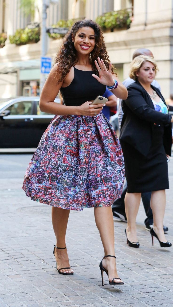 Summer style ideas to steal from tall girls like Jordin Sparks.