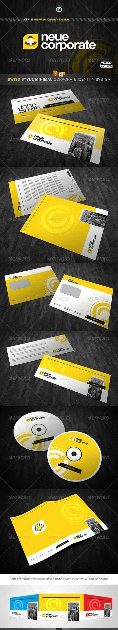GraphicRiver RW Swiss Style Modern Corporate Identity And Logo 2331247