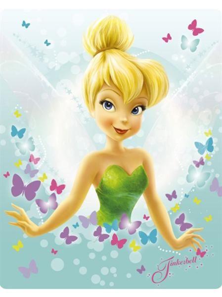 Disney Fairies Tinkerbell Tink | disney fairies fleece deken tinkerbell nieuw diversen algemeen