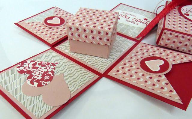 die besten 25 valentinstag basteln ideen auf pinterest valentinstag sachen basteln. Black Bedroom Furniture Sets. Home Design Ideas
