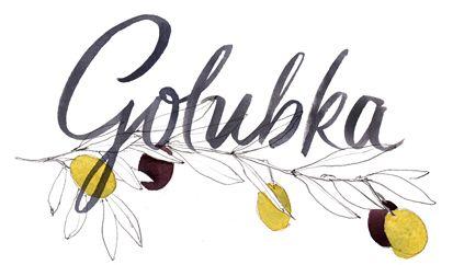Blog Logo, Golubka Kitchen . Many wonderful, tasty, healthy, and beautiful raw and vegan recipes! http://golubkakitchen.com/recipes