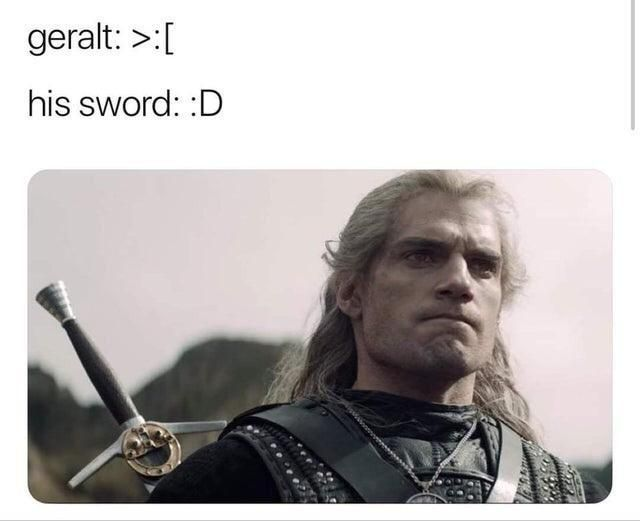 Pin By Chiri Chiri On The Witcher The Witcher Funny Memes Funny Animal Memes