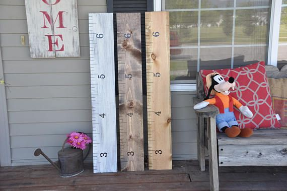 7000 Sold! Keepsake Rulers  Mini-size growth chart rulers for measuring kids' height!