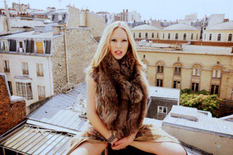 Fashion on Paris's roof