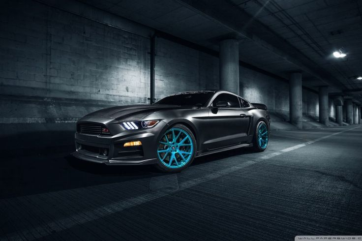 Roush Ford Mustang Vossen Wheels