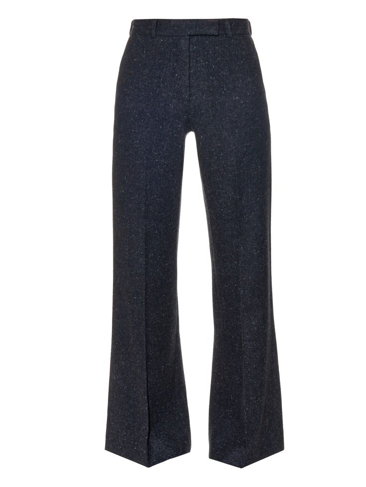 Flared-leg donegal-tweed trousers | Raey | MATCHESFASHION.COM